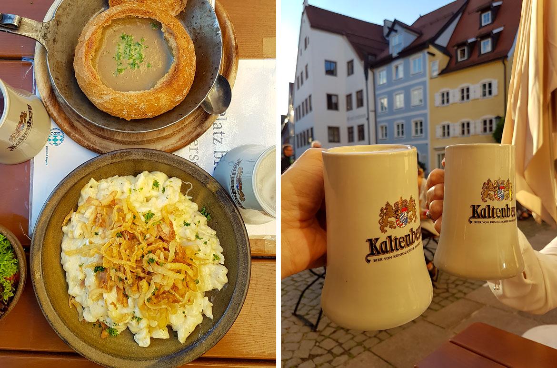 Gastronomie Bavière Allemagne
