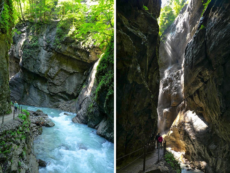 Gorges de la Partnach (Partnachklamm) Bavière Allemagne
