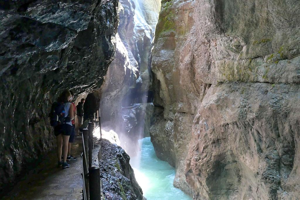 Gorges de la Partnach (Partnachklamm) road trip Bavière Allemagne