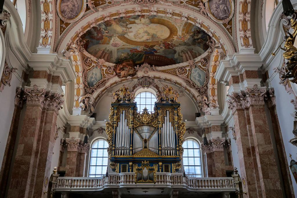 Innsbruck cathédrale Saint Jacques