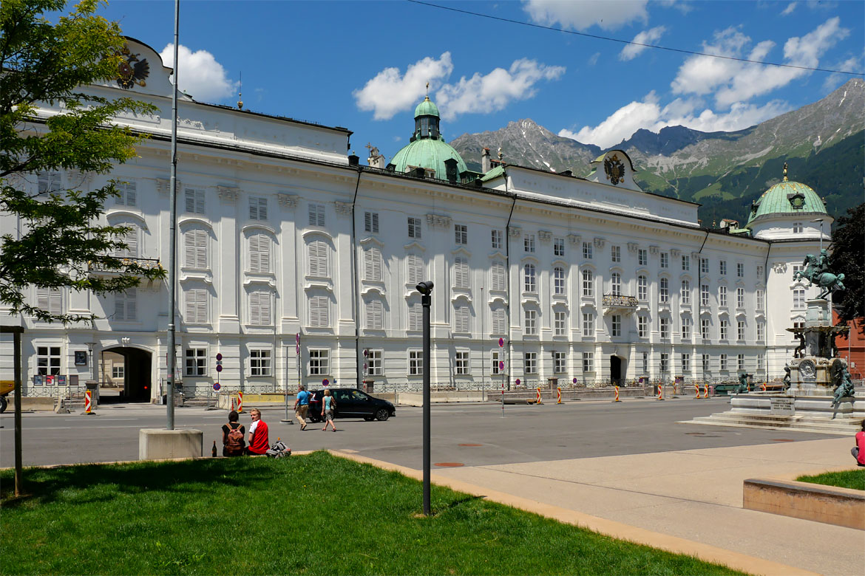 Innsbruck Palais impérial des Hofburg