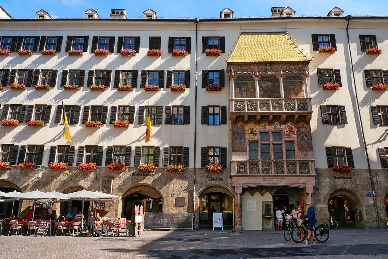 Innsbruck le petit toit d'or