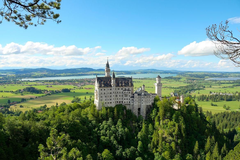 Visiter le château de Neuschwanstein Bavière Allemagne