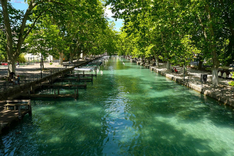 Canal du Vassé Annecy France