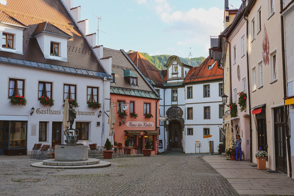 Visiter Fussen Bavière Allemagne