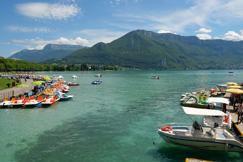 Lac d'Annecy Haute Savoie France