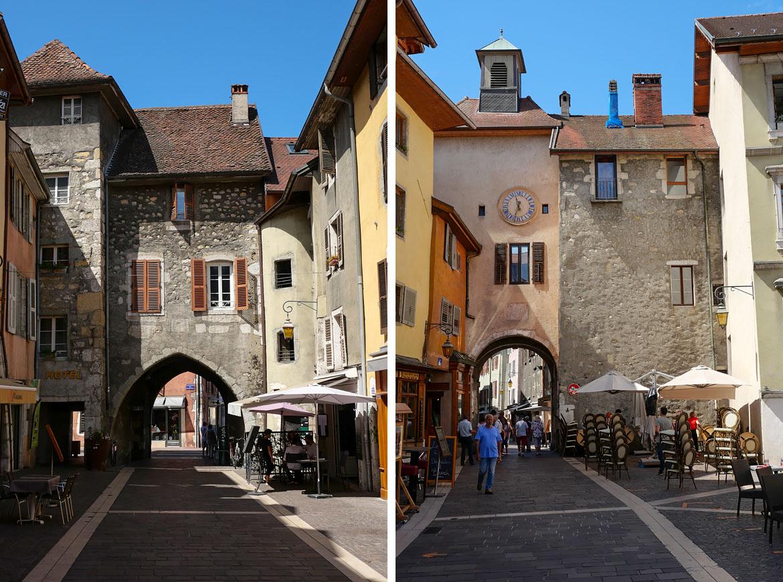 Vieille ville Annecy France