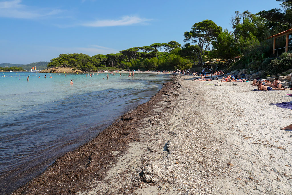 Porquerolles plage d'Argent