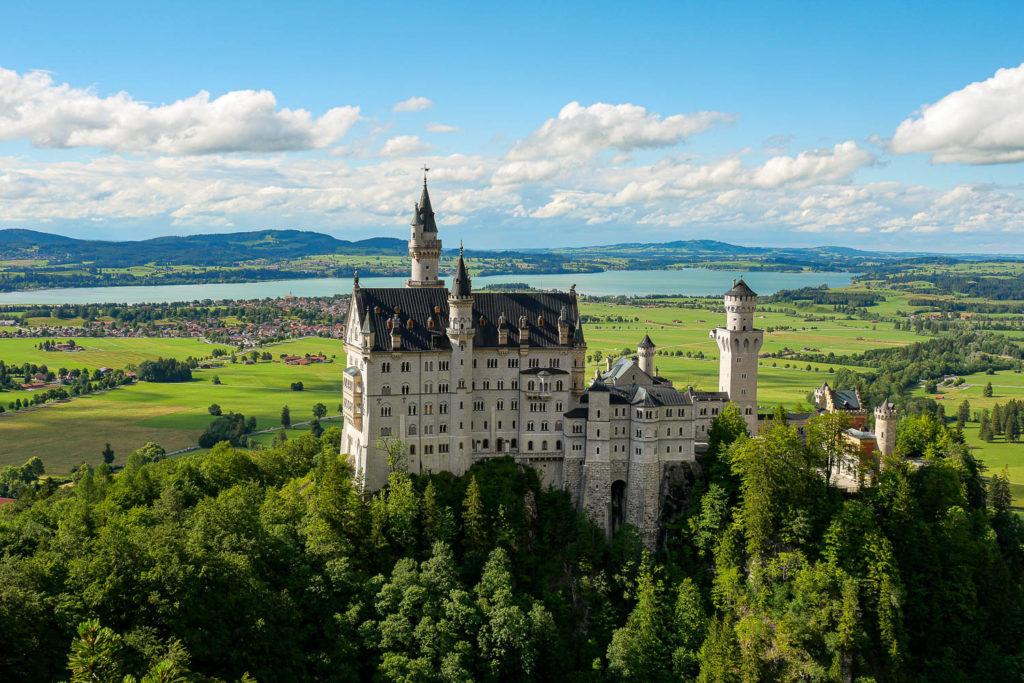 Test Olympus M.Zuiko Digital ED 12-100 mm f/4 IS PRO chateau neuschwanstein