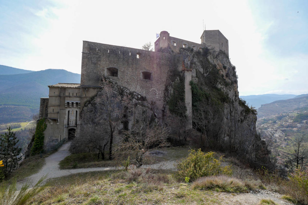 Citadelle d'Entrevaux pont-levis arrière