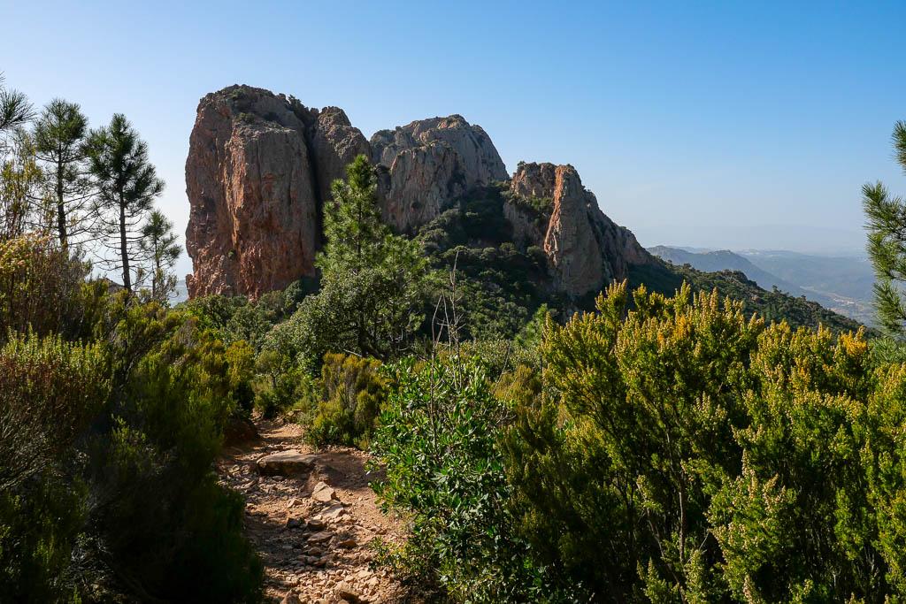 Col du Cap Roux Esterel Var