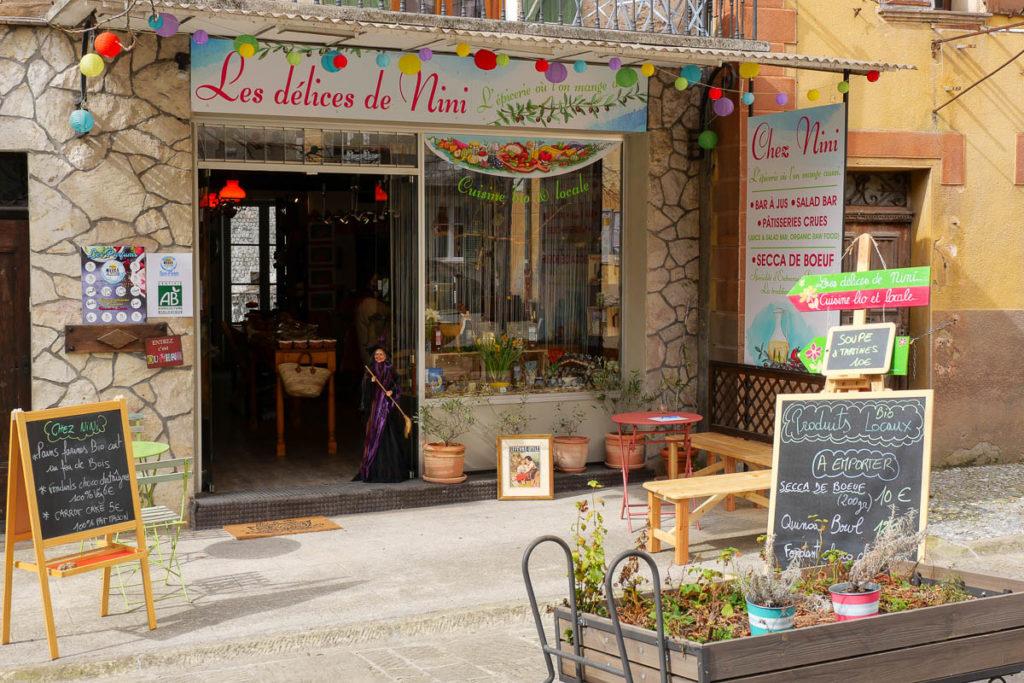 Les Délices de Nini Entrevaux Alpes de Haute Provence