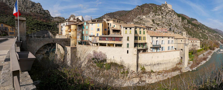 Entrevaux Alpes de Haute Provence (04) France
