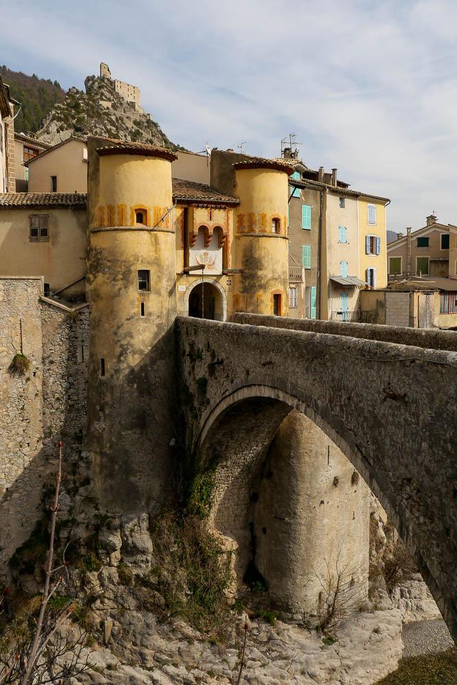 Pont-levis Entrevaux Cité Vauban France