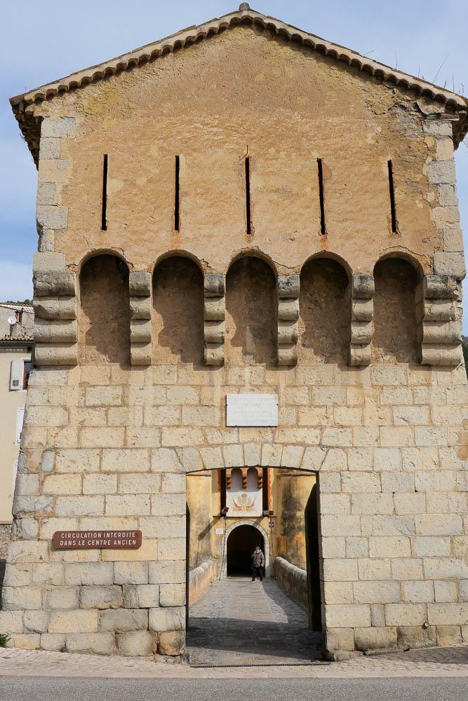 Porte Royale Entrevaux Alpes de Haute Provence (04)