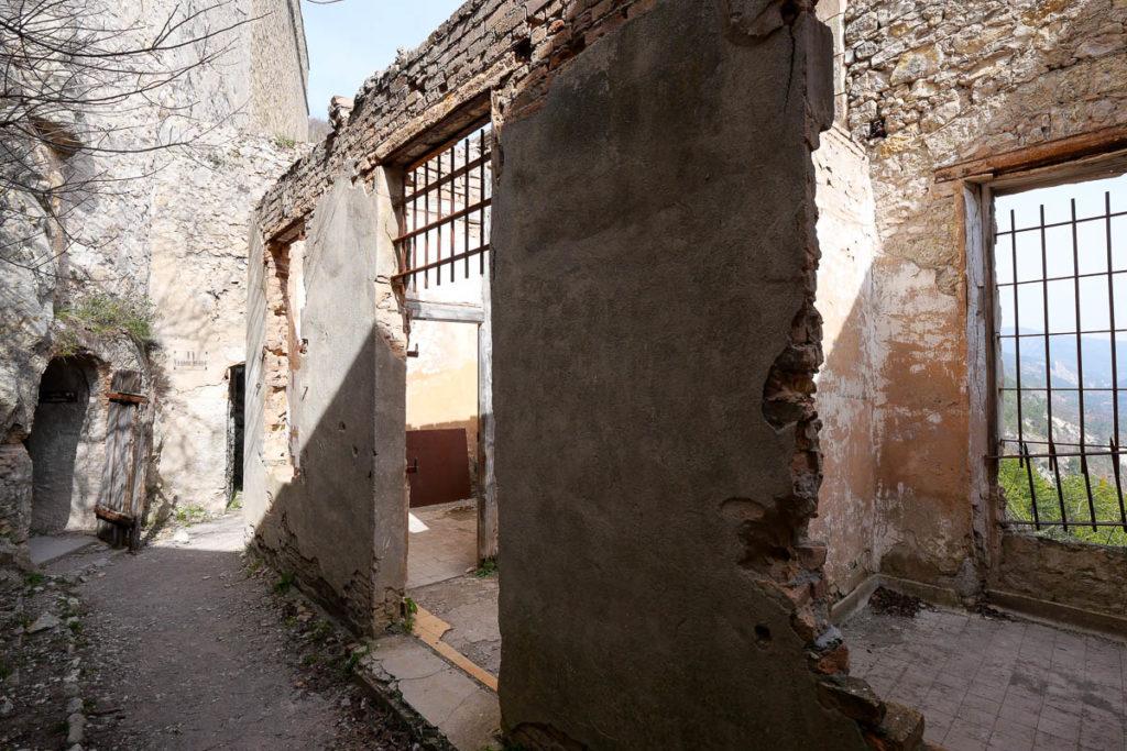 Prison allemands citadelle d'Entrevaux