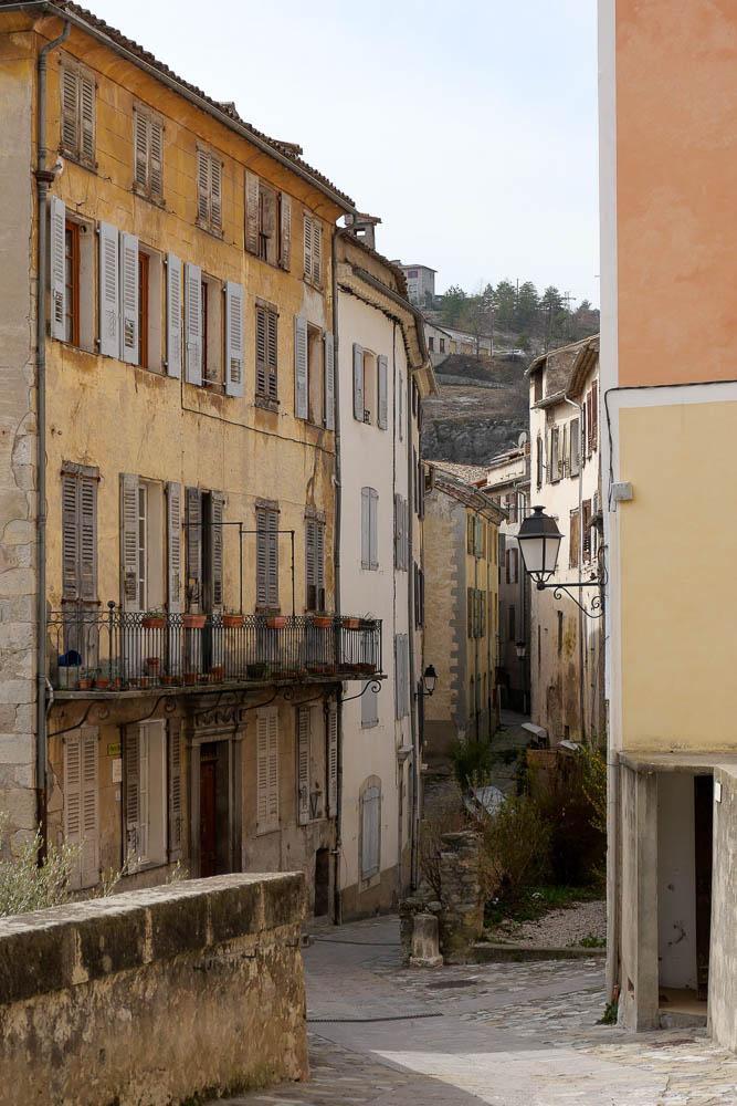 Village médiéval Entrevaux Alpes de Haute Provence