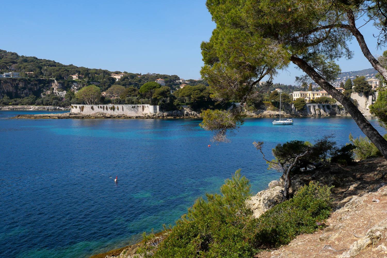 Anse des Fossettes Saint Jean Cap Ferrat Côte d'Azur