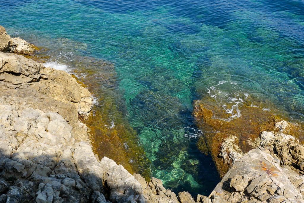 Crique baignade Saint Jean Cap Ferrat France