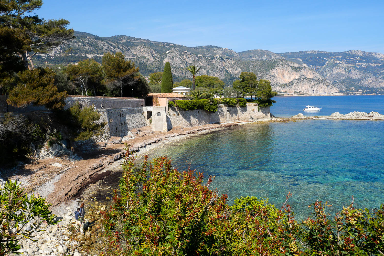 Promenade Maurice Rouvier visiter Saint Jean Cap Ferrat