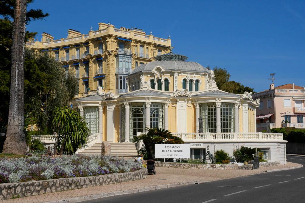 Les salons de la rotonde Beaulieu sur Mer Côte d'Azur