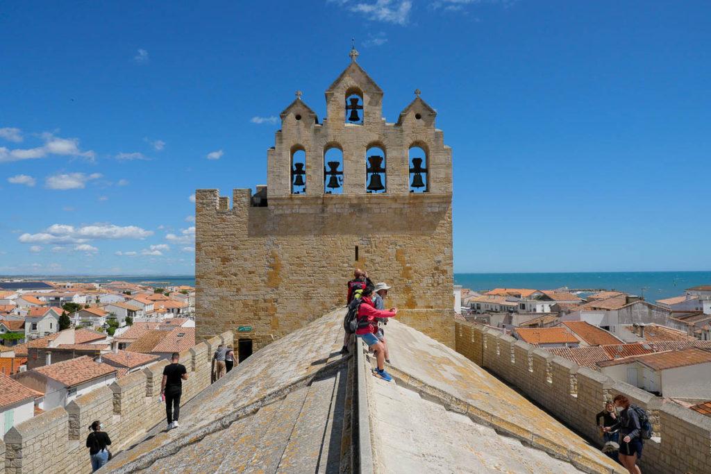 Toit église forteresse Saintes-Maries-de-la-Mer