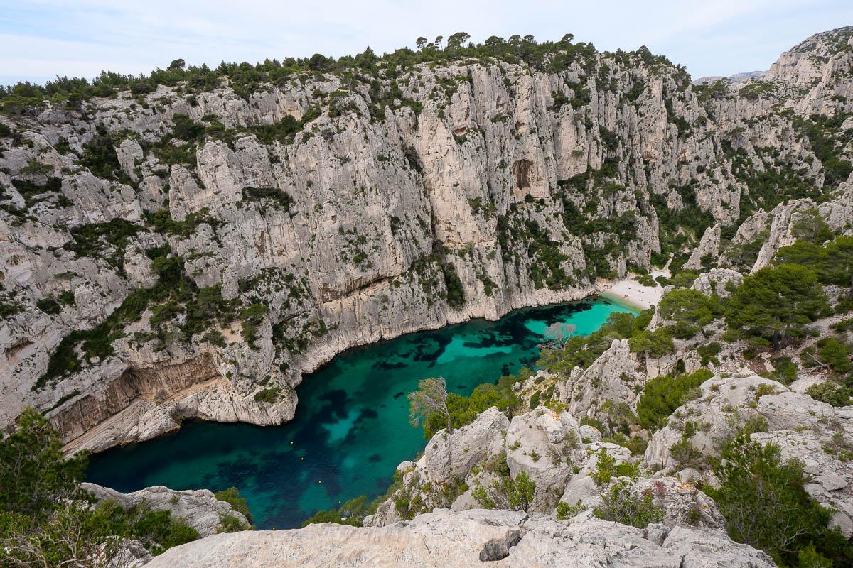 Calanque d'En Vau Marseille Provence France