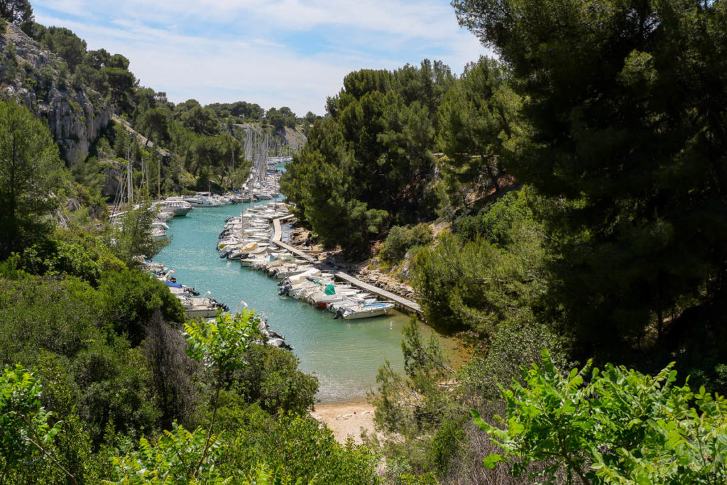 Calanque de Port Miou Cassis Marseille Provence France