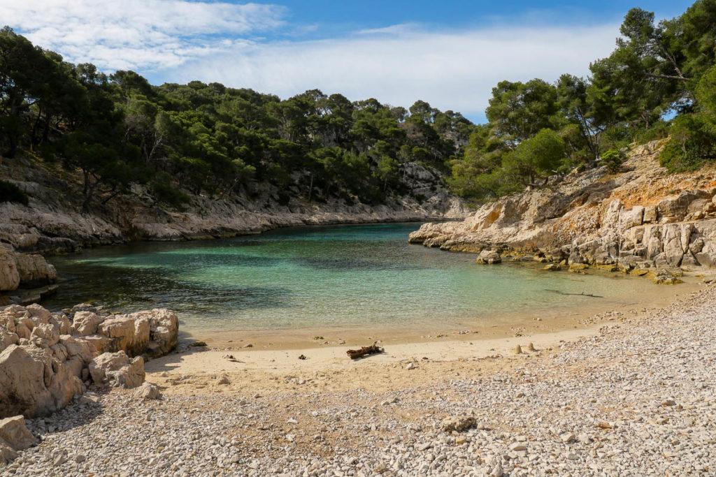 Calanque de Port Pin Marseille Provence France