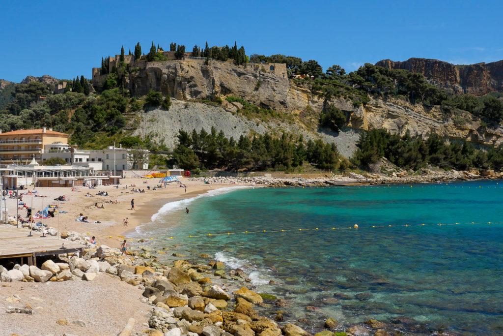 Plage de la Grande Mer Cassis France