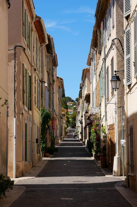 Ruelles vieux Cassis Provence France