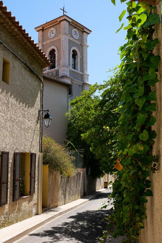 Clocher église Saint Michel vieux Cassis Provence France