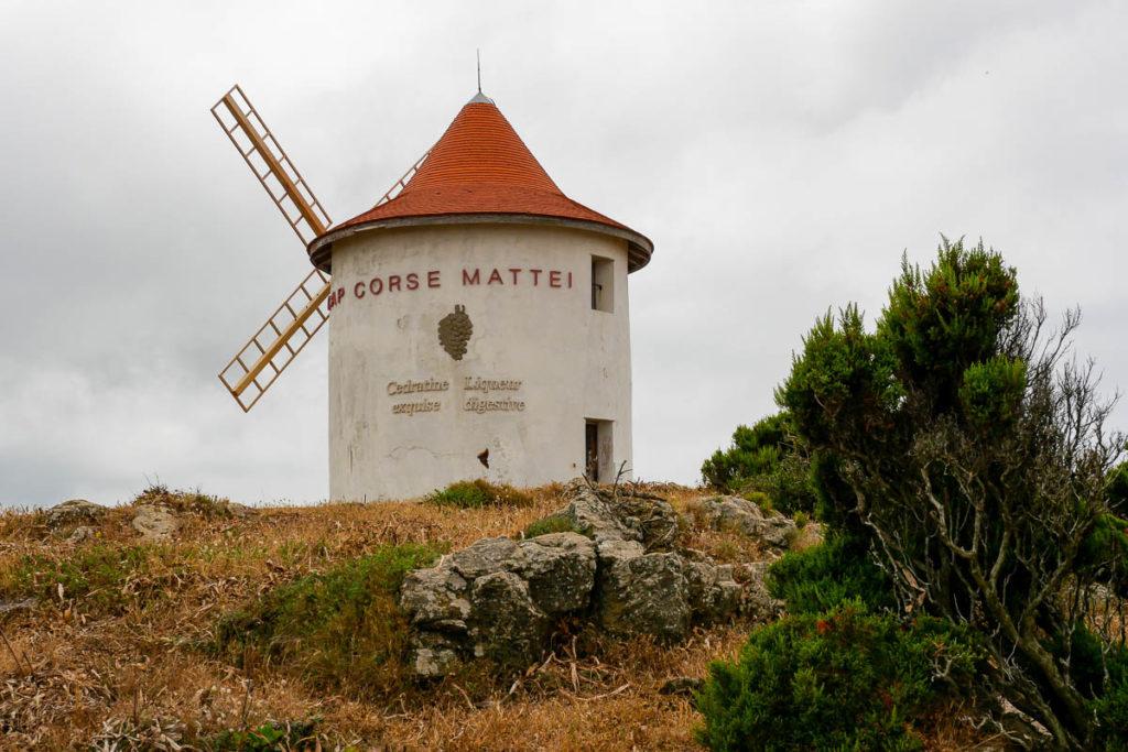Cap Corse Moulin Mattei Col de Serra