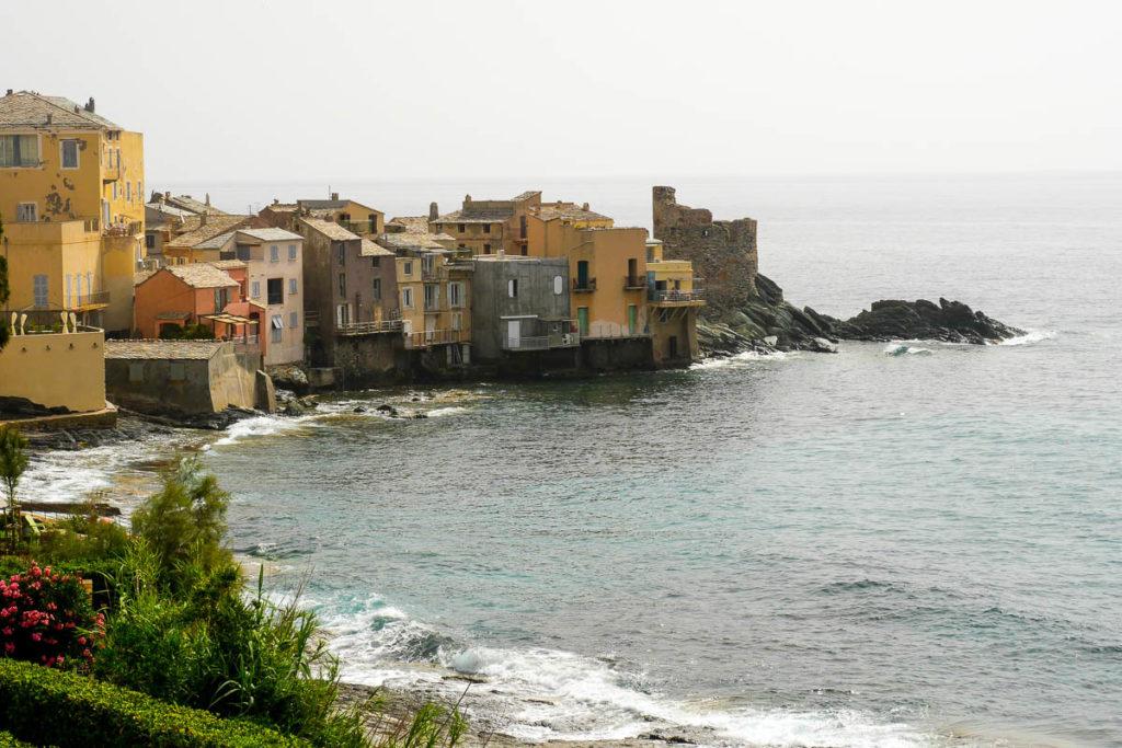 Vue panoramique village Erbalunga Cap Corse