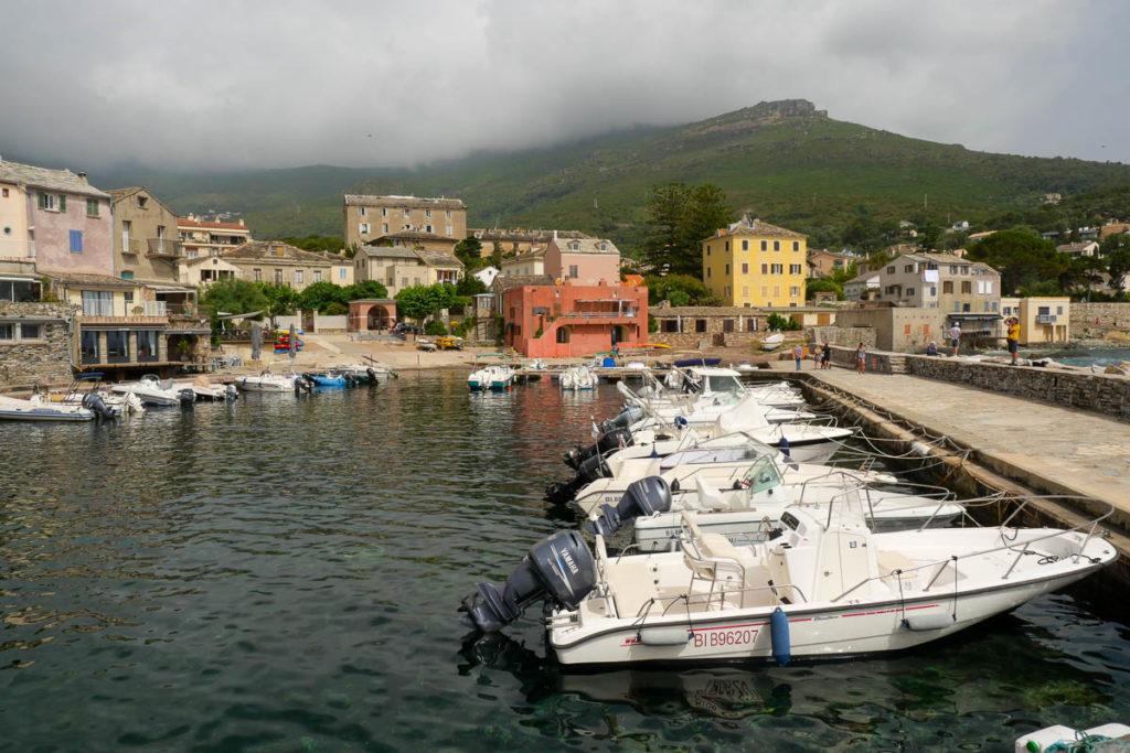Marine d'Erbalunga port bateau Cap Corse