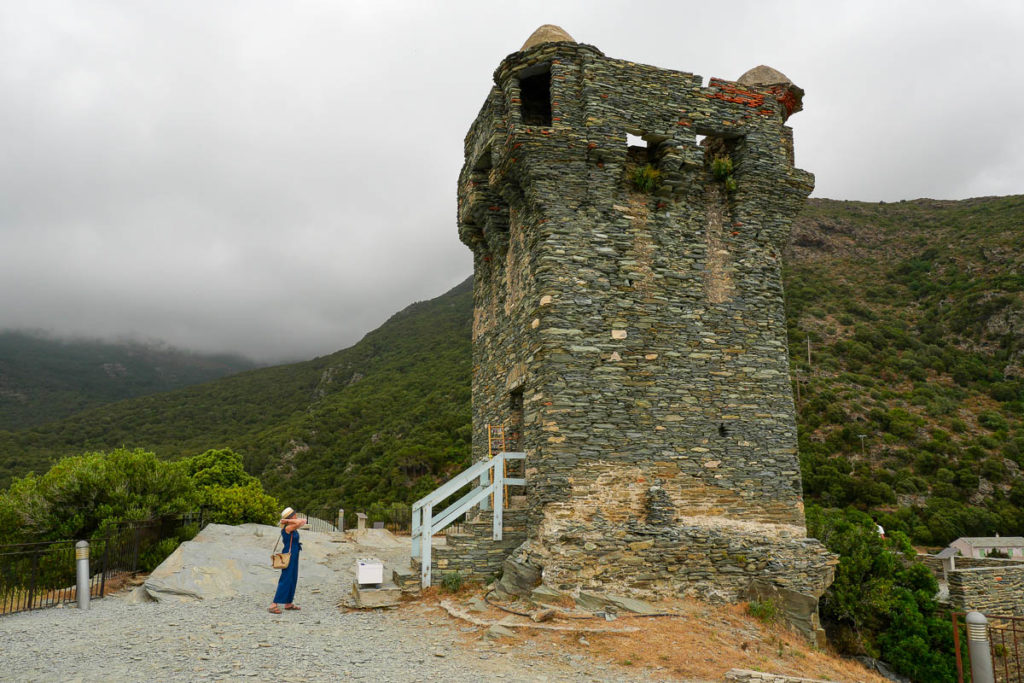 Tour génoise village Nonza Cap Corse