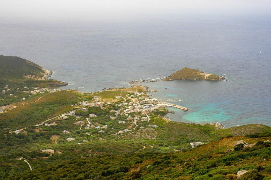 Panorama col de Serra Cap Corse