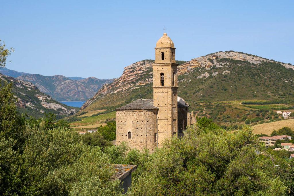 Eglise baroque Saint-Martin Patrimonio Corse