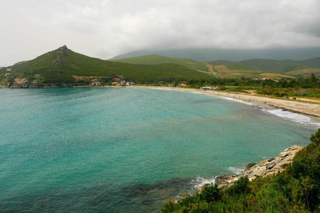 Plage de Pietracorbara Cap Corse