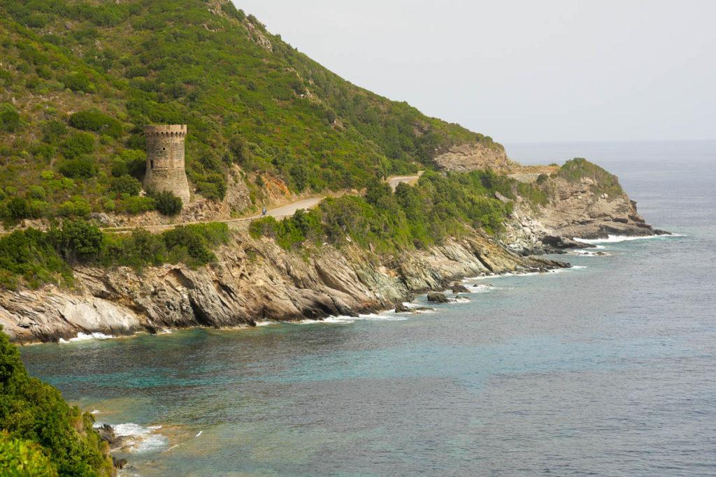 Tour de l'Osse génoise Cap Corse France