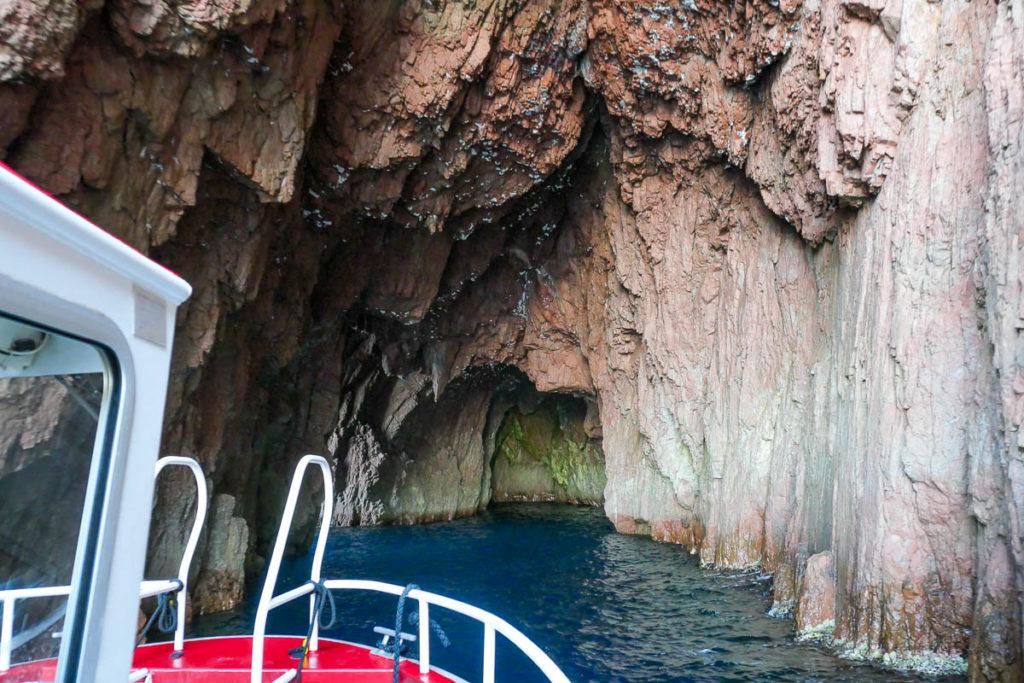 Grotte calanque de Piana Corse