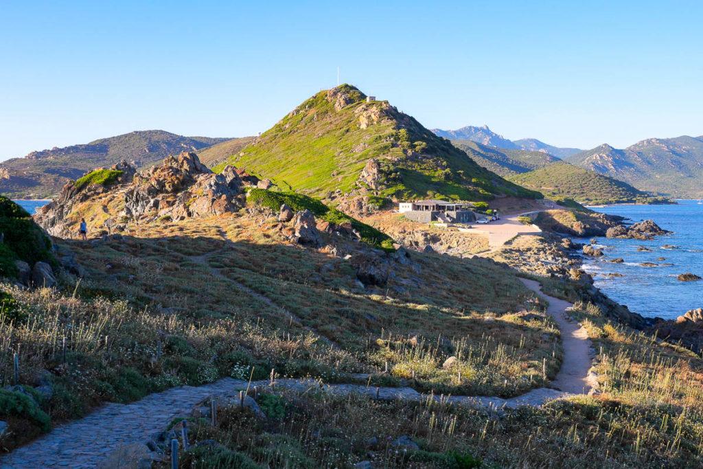 Sentier Pointe de la Parata golfe d'Ajaccio Corse