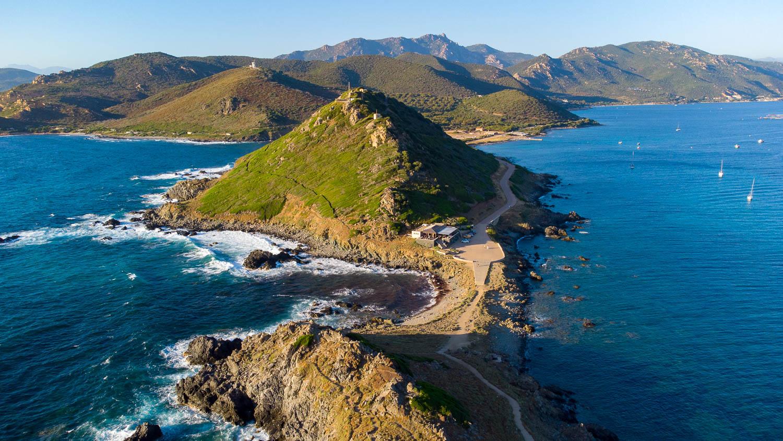 Pointe de la Parata îles Sanguinaires golfe d'Ajaccio Corse