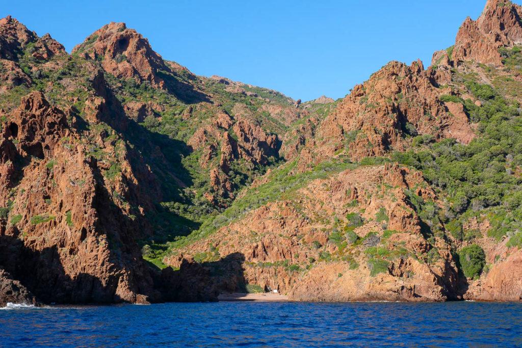 Balade en mer bateau Réserve de Scandola Corse