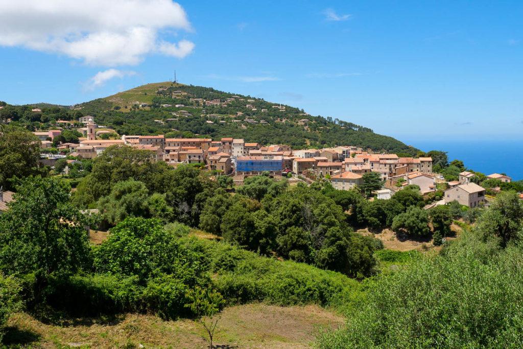 Village de Piana en Corse du Sud