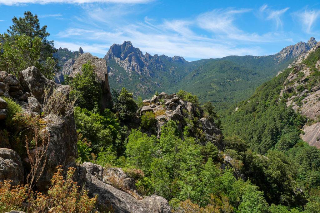 Aiguilles de Bavella foret Corse France