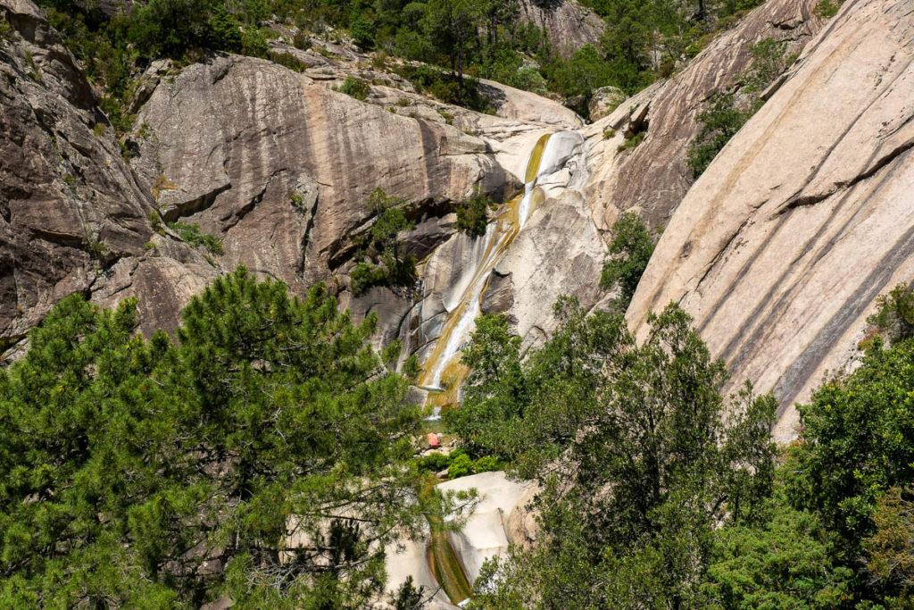 Cascades de Purcaraccia en Corse